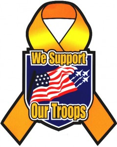 Helping our heroes: County launches Support Our Troops campaign.