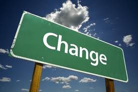Thought of the day: Change&#8230;