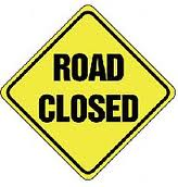 Alert, Road Closure in Victorville