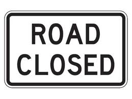 Scheduled Road Closure In Hesperia