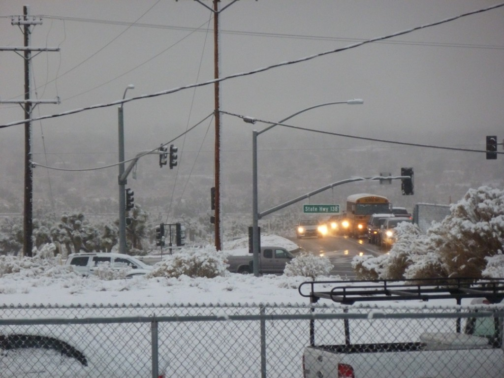 Cold And Possibly Wet Weather Continues For The High Desert