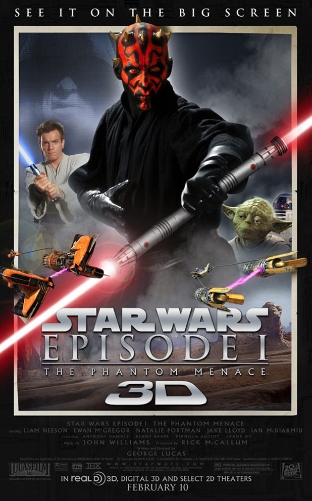 Star Wars Episode 1: The Phantom Menace 3D Review