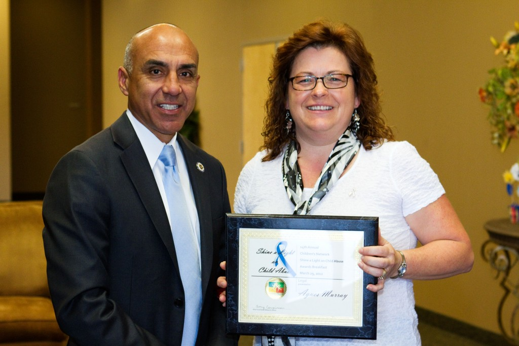 Deputy DA Honored For Work With At-Risk Children