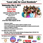 Job Fair 2012 Flyer