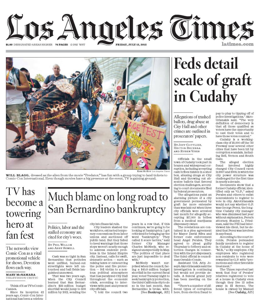 Los Angeles Times: The High Desert's New