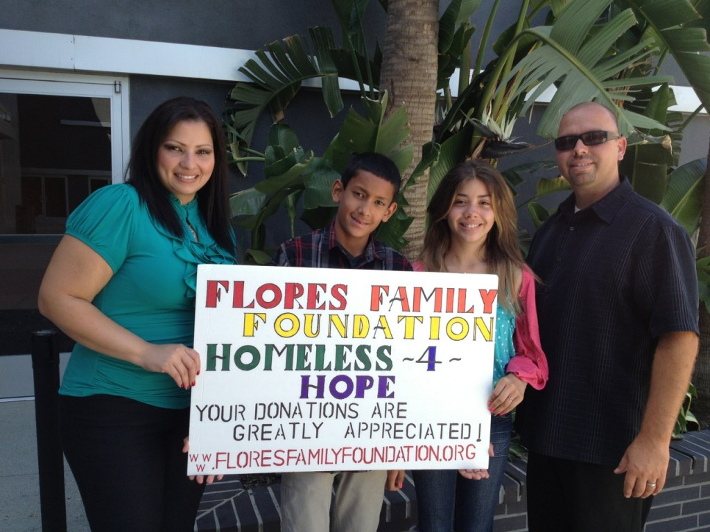 Family Goes Homeless For Three Days To Raise Awareness