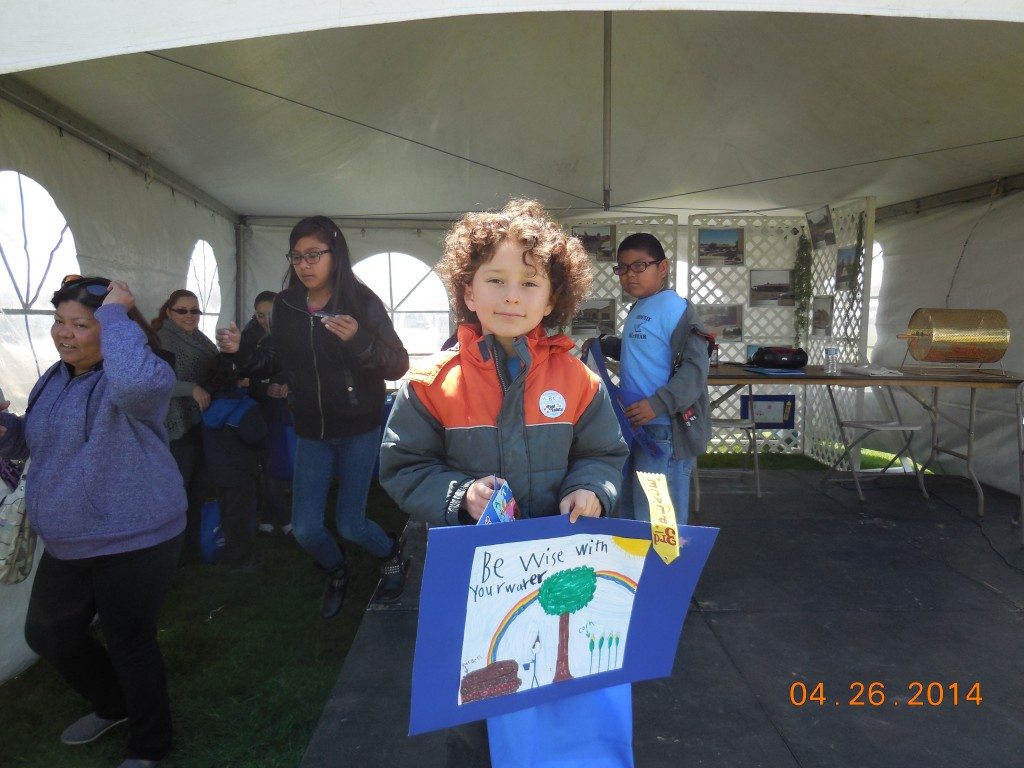 Poster Coloring Contest Winner. Photos provided by Apple Valley Ranchos.