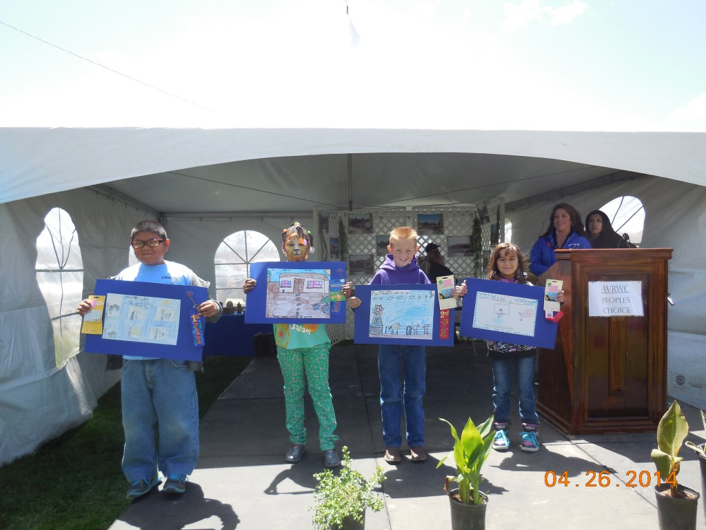 Poster Coloring Contest Winners. Photos provided by Apple Valley Ranchos.