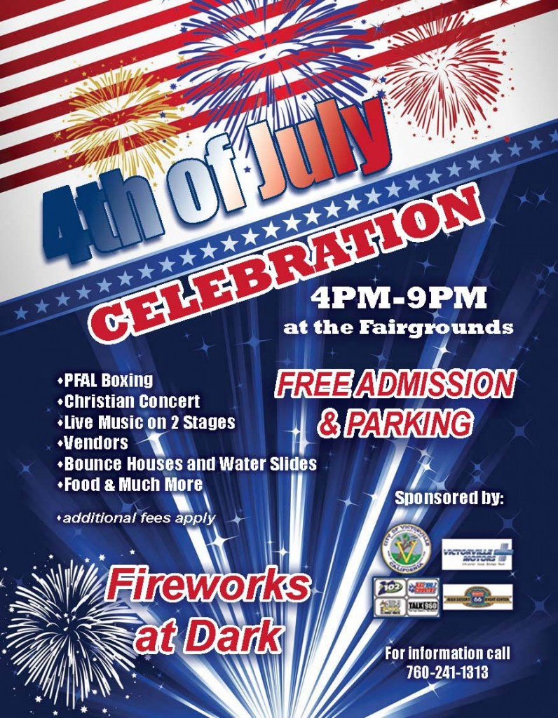 4th of July Flyer 2014