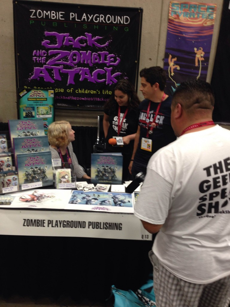 Apple Valley Residents Chris and Amy Hernandez, creators of Jack and the Zombie Attack. Photo by Jason T. Smith.
