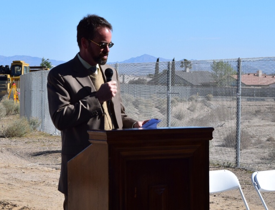 VVWRA General Manager Logan Olds. Photo by Nolan P. Smith.
