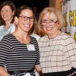 Teresa Olin (left) and Kay Lokoff (right), founder of TLLCCF. The award is named after her daughter, Terri.