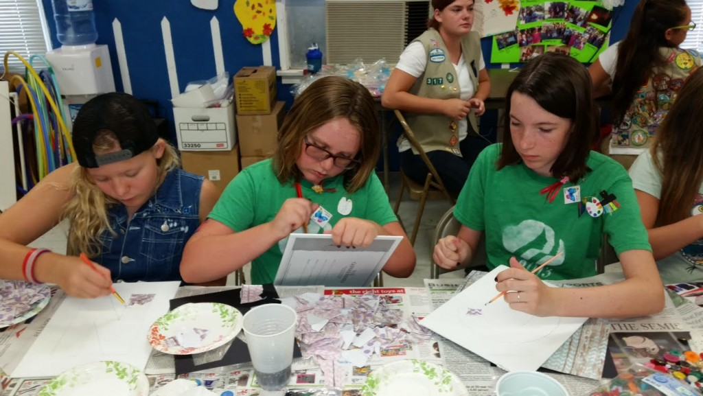 """""""Hesperia Girl Scout Troop 317 recently traveled as council ambassadors to provide programming for sister Girl Scouts in Needles, California."""""""