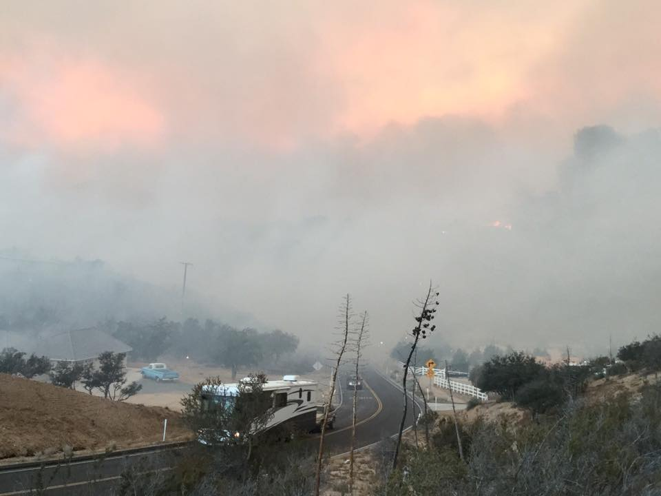 Photo from San Bernardino County Fire Facebook Page (https://www.facebook.com/SanBernardinoCountyFire/)