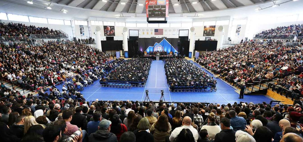 16-12-10-CSUSB-- 2016 Commencement at California State University, San Bernardino on Saturday December 10, 2016. Photo by Corinne McCurdy/CSUSB