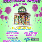 60th Birthday Party Poster