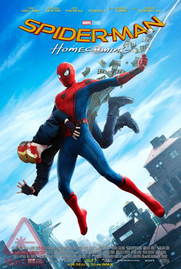 Spider-Man-Homecoming-Amazing-Fantasy-Exclusive-Poster-Nerdist-600x889