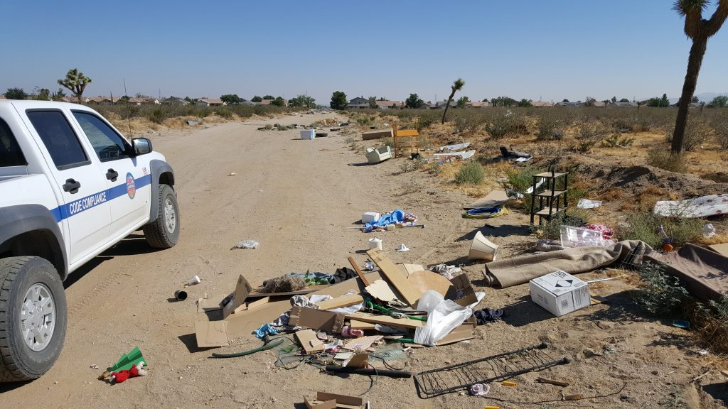 Free Dump Day seeks to discourage illegal dumping as seen above.